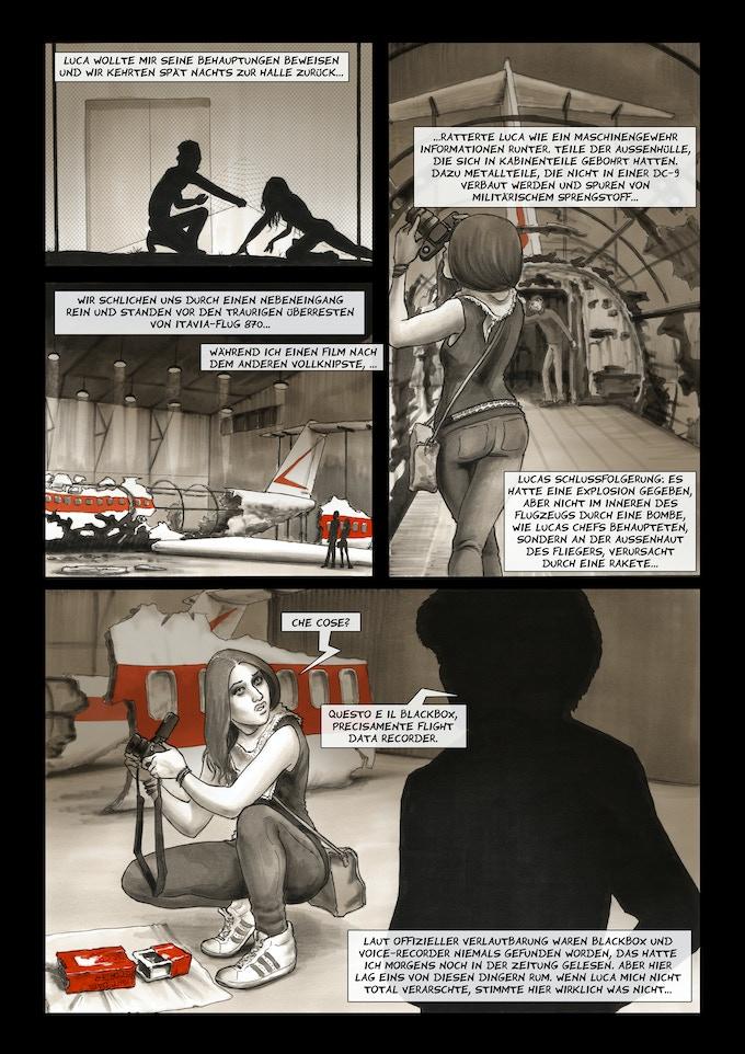 """""""Die Ustica-Verschwörung"""" Seite 18"""
