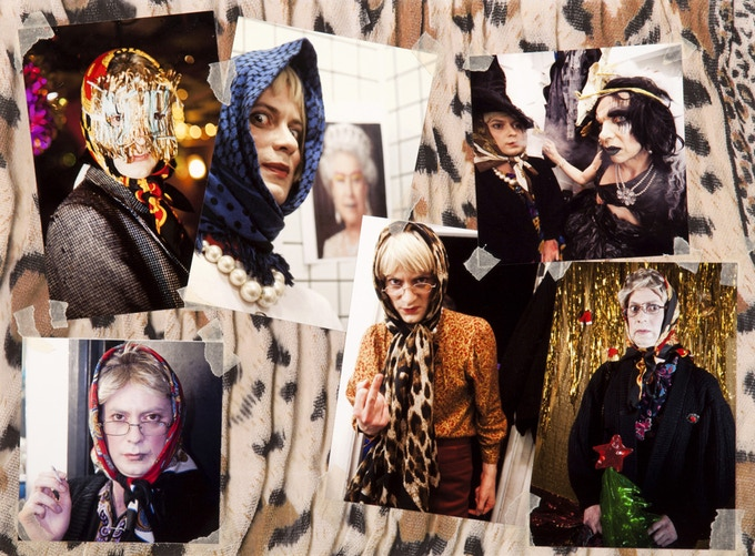 Photo-collage featuring Pam Lustgarden.