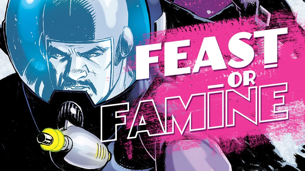 Feast or Famine - a NEW Sci-Fi Comic Book Series by Alterna project video thumbnail