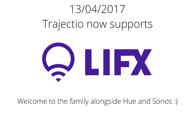 Motion control for LIFX