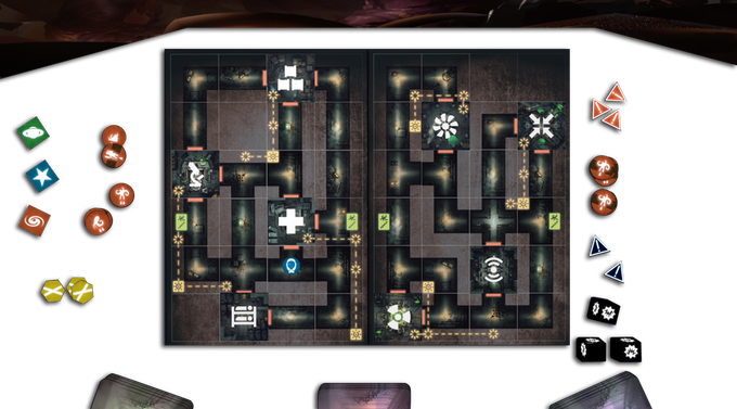 The Evil players' gameplay is all about setting traps and plotting schemes.