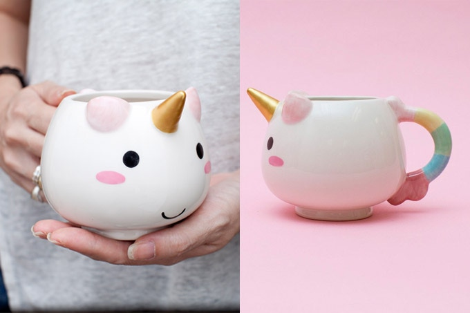 Elodie Unicorn Ceramic Mug