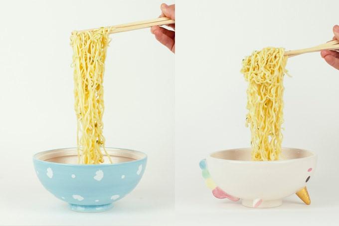 Ramen Set is Two Bowls in One
