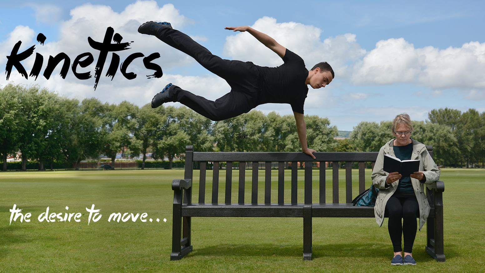 Following a critically acclaimed theatrical tour and the widespread demand, we are turning Kinetics into a short feature film. To watch the final film in full, go to:www.kineticsfilm.com