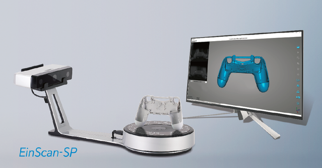 EinScan-S: Fast, Accurate, Safe 3D Scanner for 3D Printing