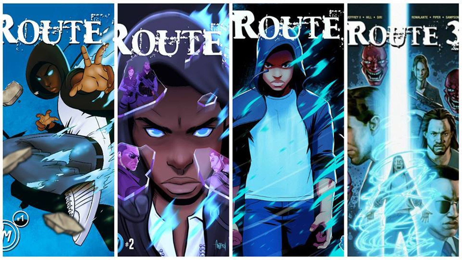 Centuries old prophecies. Shadowy government conspiracies. Super heroic action. Just a typical day for teenager Sean Anderson. Route 3.