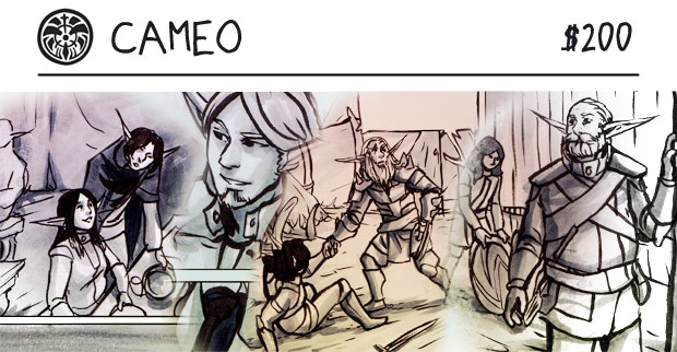 Cameo images from the Volume 1 and 2 campaigns!