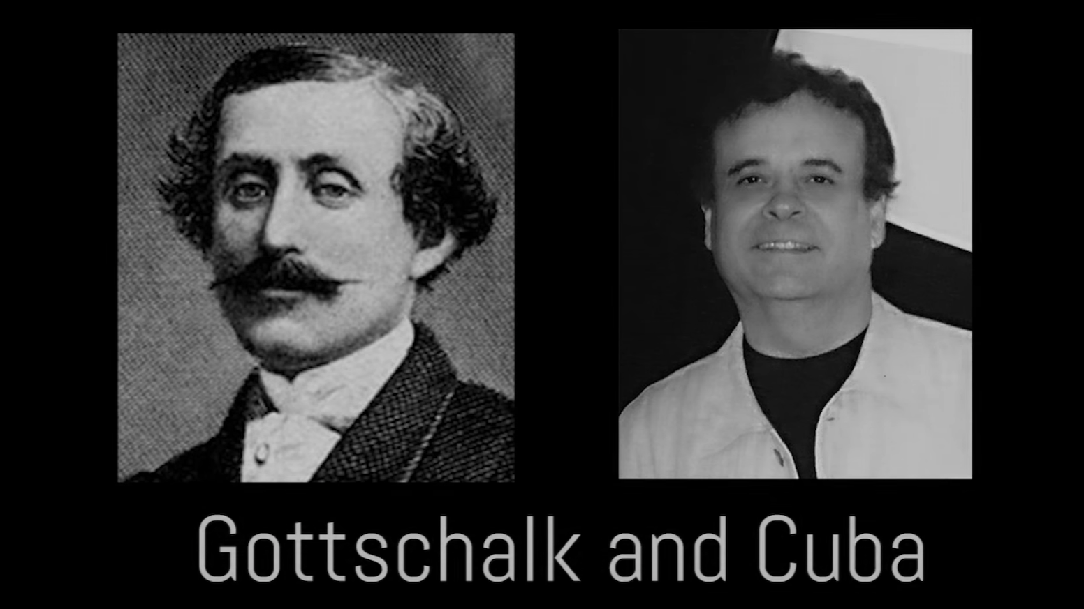 Gottschalk and Cuba is a journey through 100 years of music that started with a 19th Century American pianist-composer visiting Havana.