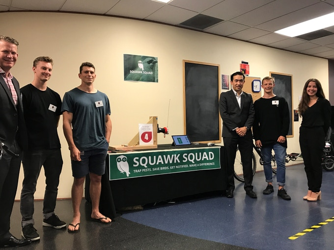 People's choice winners at Ecentre Business Incubator