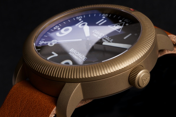 The double dome Sapphire Crystal. Coin edge bezel.
