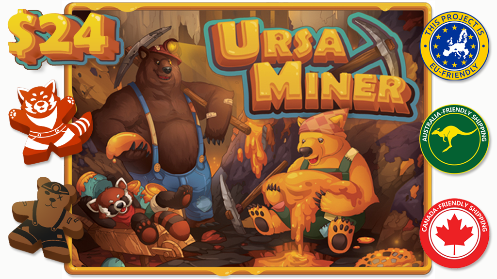 Ursa Miner: Bears Mining Honey! project video thumbnail