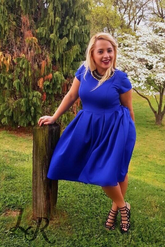 The non-nursing Lucie Dress w/o zippers