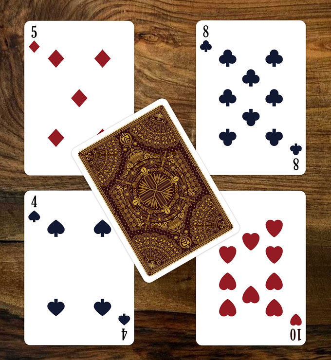 The Three Musketeers Playing Cards numbers