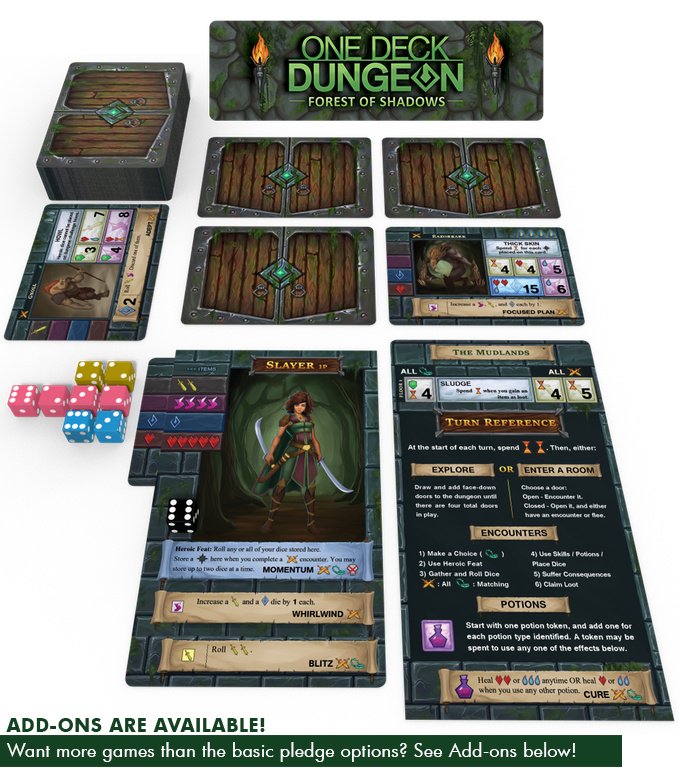 one deck dungeon how to play