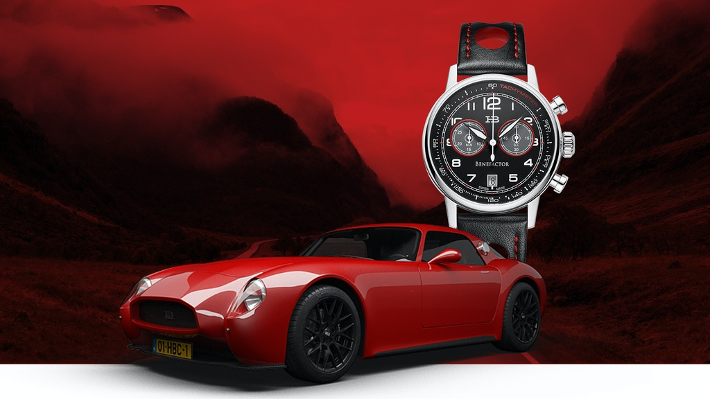 World's 1st Swiss Made Watch that fuels a Sports Car project video thumbnail
