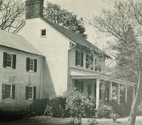 Whites Hall, as it looked in the 1920s