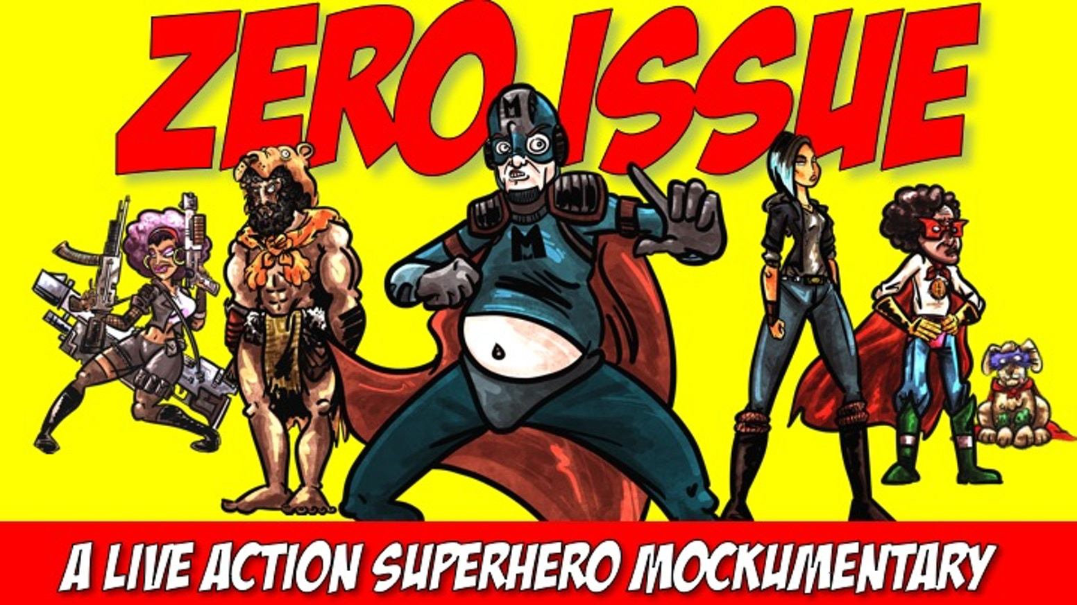 Zero Issue: A Superhero Mockumentary by New York Picture