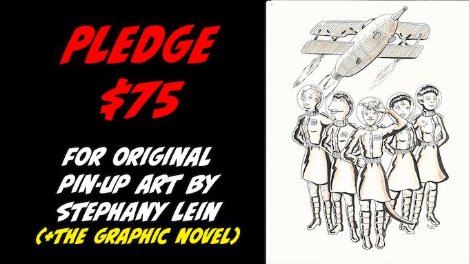 Pledge $75 for original art by Stephany Lein + the Graphic Novel