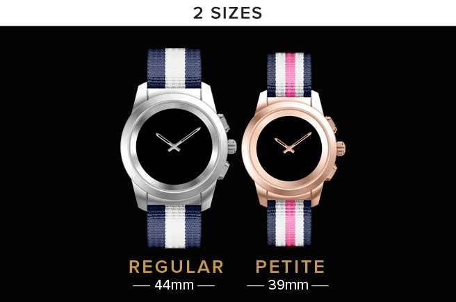 ZeTime Regular: Shipping in September 2017 - ZeTime Petite: Shipping in December 2017