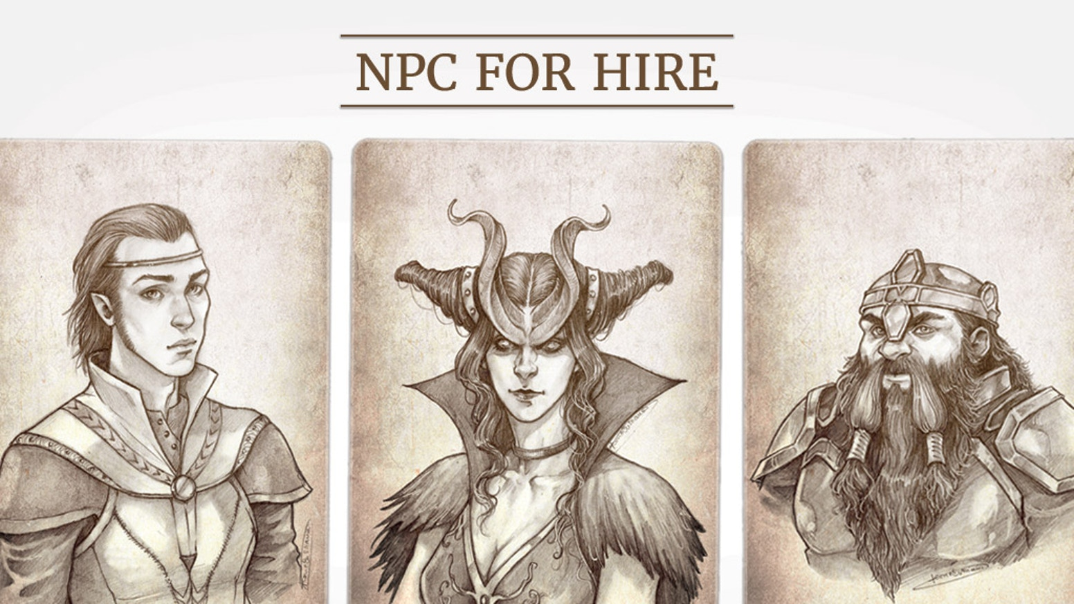 The masterfully illustrated tabletop RPG aid is back with two new editions. Find elves, demons, dwarves, halflings, and more.