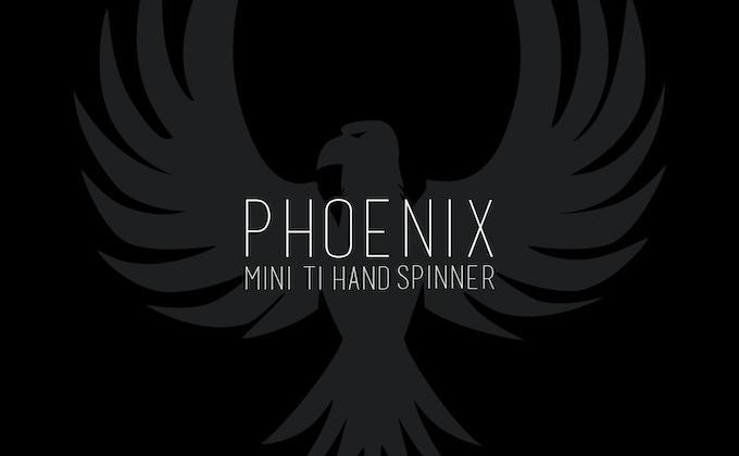 Cineik EDC Titanium Phoenix Hand Spinner