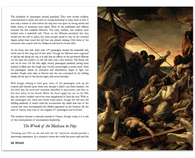 Example two-page spread