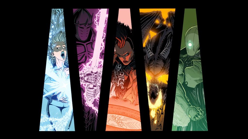 WARLOCK 5: Comic written by Cullen Bunn (Deadpool, X-Men) project video thumbnail