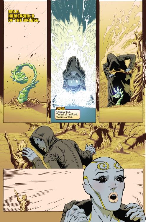 Page 01 - Warlock 5 Artwork by Jeffrey Edwards & Andy Poole