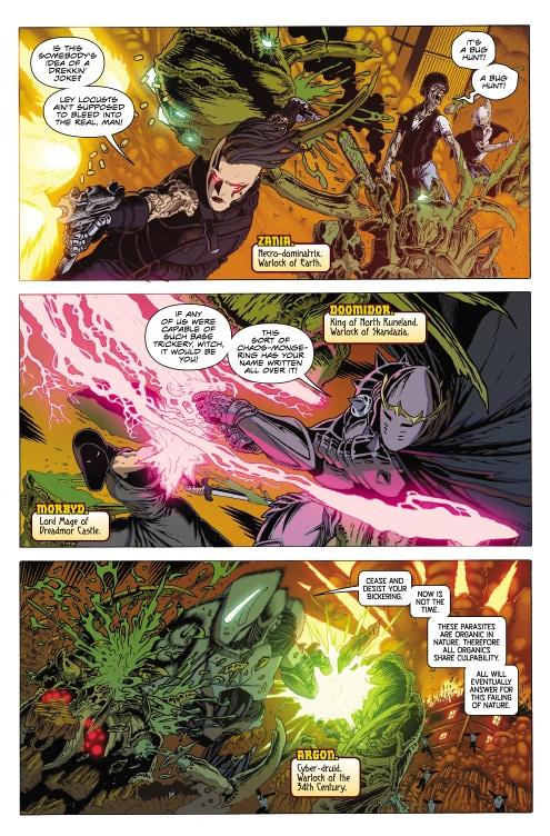 Page 06 - Warlock 5 Artwork by Jeffrey Edwards & Andy Poole
