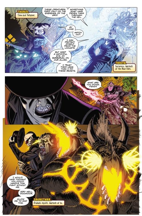 Page 07 - Warlock 5 Artwork by Jeffrey Edwards & Andy Poole