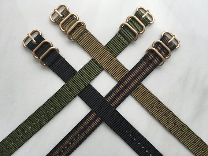 Nylon Strap Colours