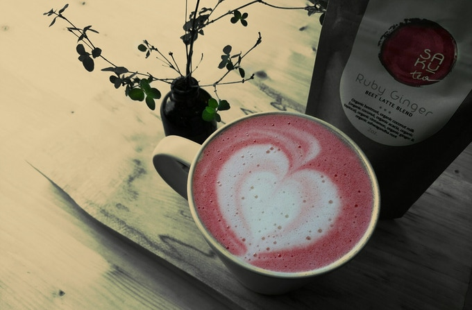"""Beet decadence never tasted so good. A Ruby Ginger latte surpasses all expectations."" Dondi Tondro-Smith, Whatcom Talk"