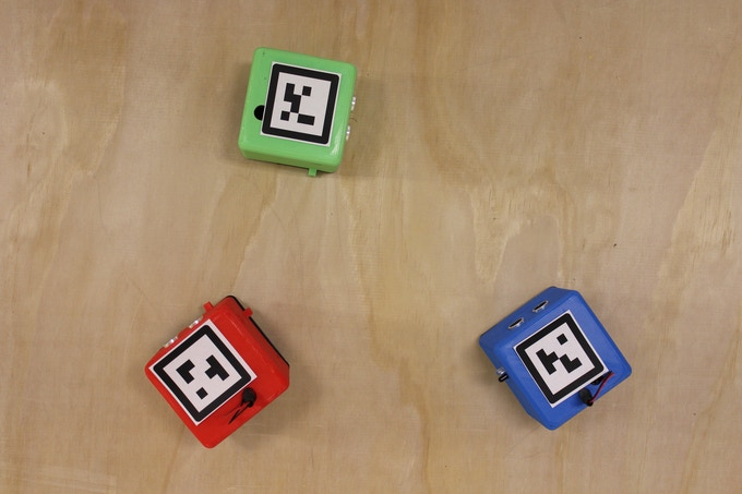 Using QR Codes to Track LittleBots