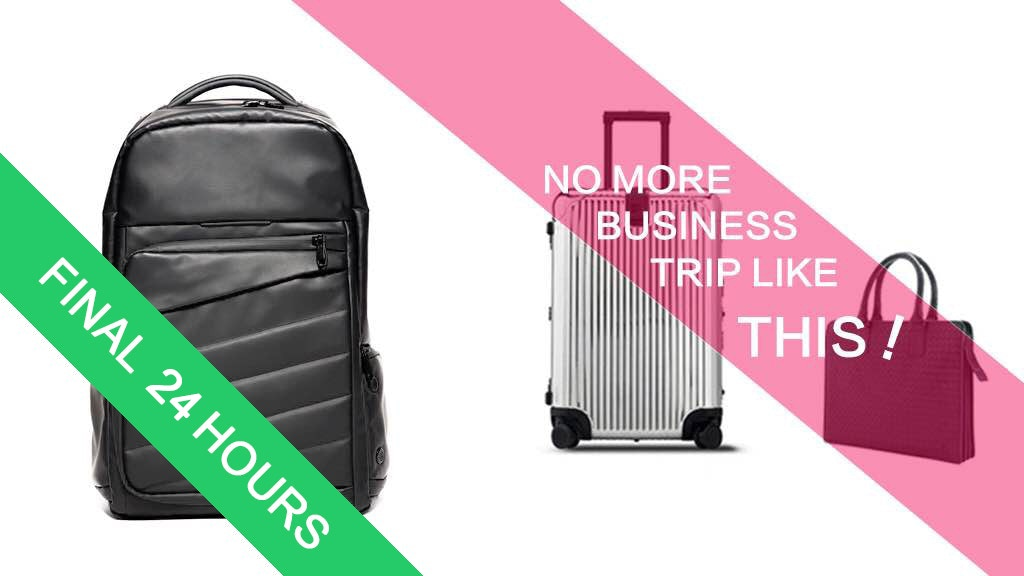 Lemore | 7-day Business Travel Backpack project video thumbnail