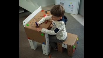 Le Kit de construction mobilier Les Petits Léonards
