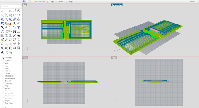 3D modeling & prototyping process