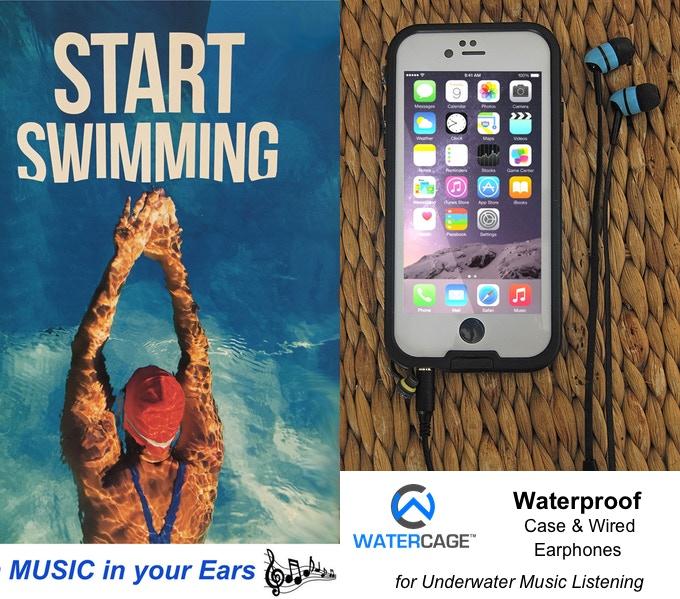 WaterCage™ Waterproof Wired Set for Underwater Listening
