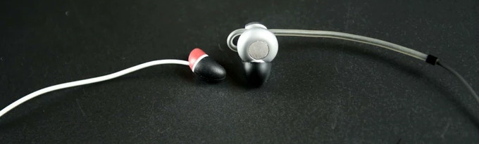 Its small compared to other earphones!
