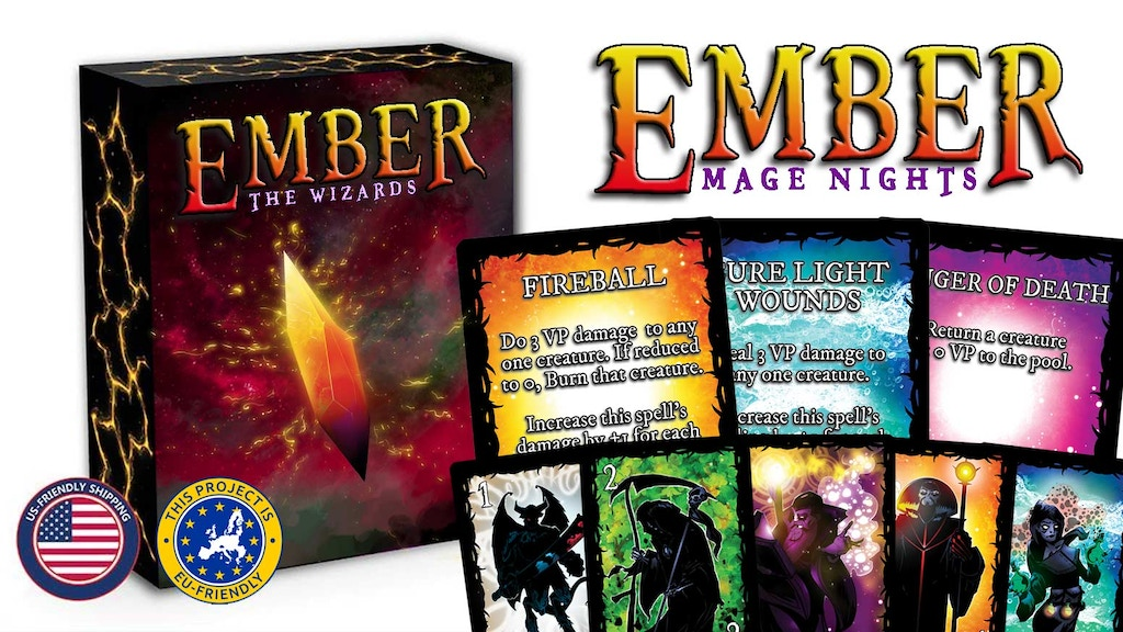 Ember: Mage Nights - an Epic Expansion of Creature Conjuring project video thumbnail