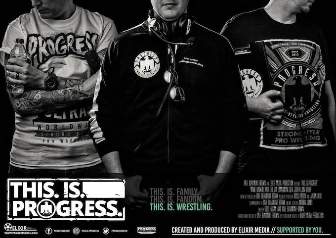 PROGRESS Poster: 'Champion' - £60