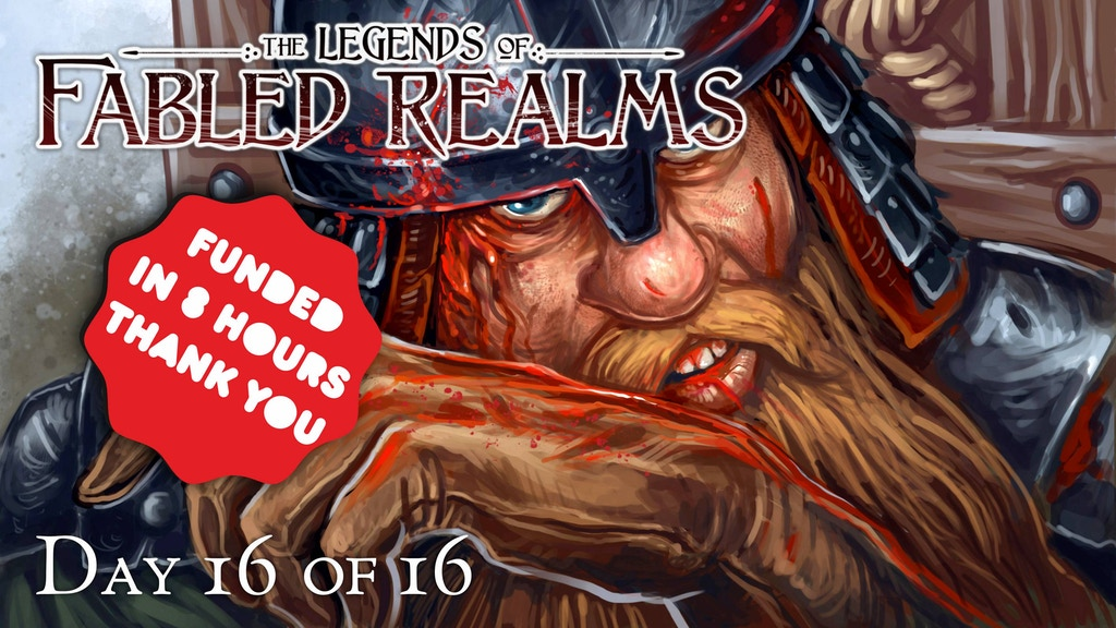 The Legends Of Fabled Realms is a tabletop skirmish game set in the fantasy world of The Fabled Realms