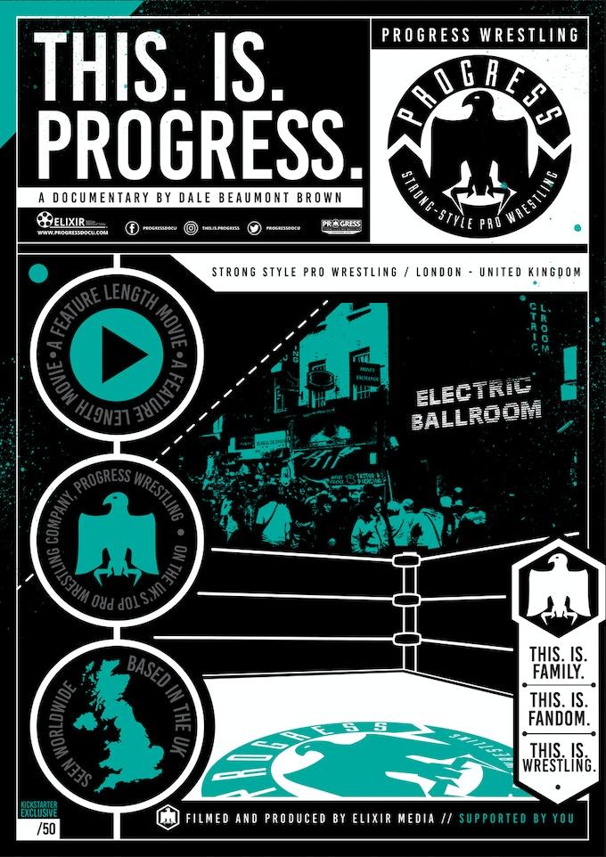 Kickstarter EXCLUSIVE Poster: 'Ironman Match' - £60