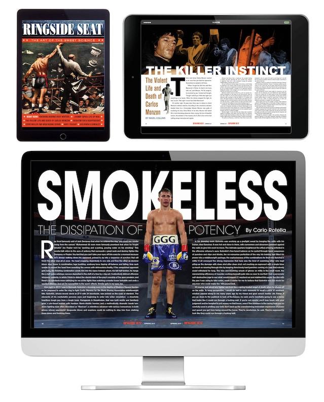 RINGSIDE SEAT Digital Boxing Magazine by Michael Kronenberg