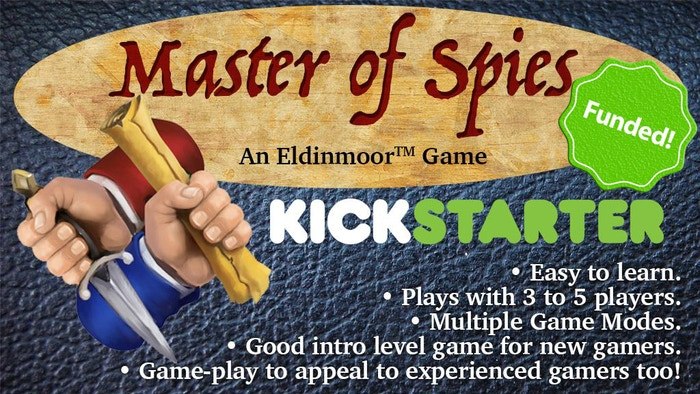 A game of luck, skill and betrayal set in the World of Eldinmoor. Easy to learn.