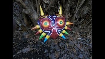 Cosplay Replica Fibreglass Mask
