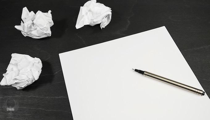Writer's / Designer's Block - The Phoenix Fidget helps you focus to get the job done!