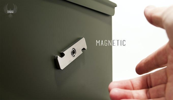 Cineik Phoenix Ti EDC Magnetic Bottle Opener Hand Spinner