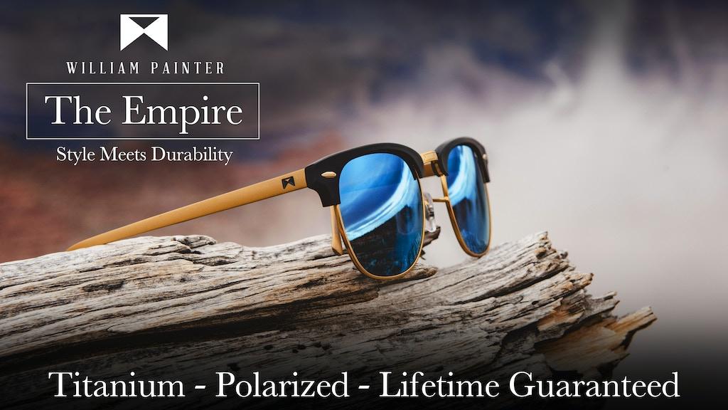 The Empire | Aerospace Grade Titanium Sunglasses project video thumbnail