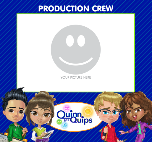 Digital photo frame and various Quinn & the Quips wallpapers, social media skins