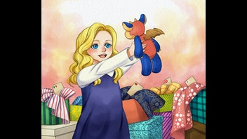 The amazing adventures of Emily and her Dragon 'Patch'!